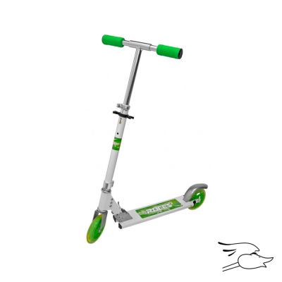 SCOOTER ROCES FUN GREEN ALUM FRAME 150MM