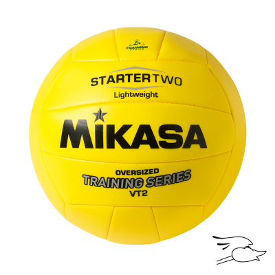 BALON MIKASA VOLLEYBALL OVERSIZED 7OZ LIGHTWEIGHT TRAINING BALL VT2