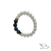 PULSERA QUARZ RAMYA BLUE-WHITE
