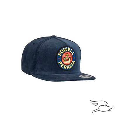 0d34544a4f4 GORRA POWELL PERALTA SUPREME SNAPBACK COURDUROY NAVY