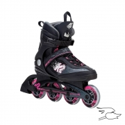 PATINES K2 KINETIC W BLACK-PINK