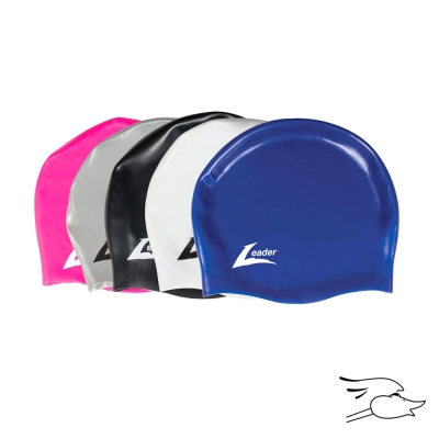 GORRO LEADER MEDLEY RACER LONG HAIR SILVER