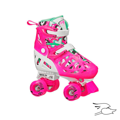 PATINES ROLLER DERBY ROLLER TRAC STAR GIRL
