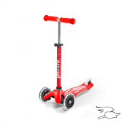 SCOOTER MICRO DELUXE RED (LED)