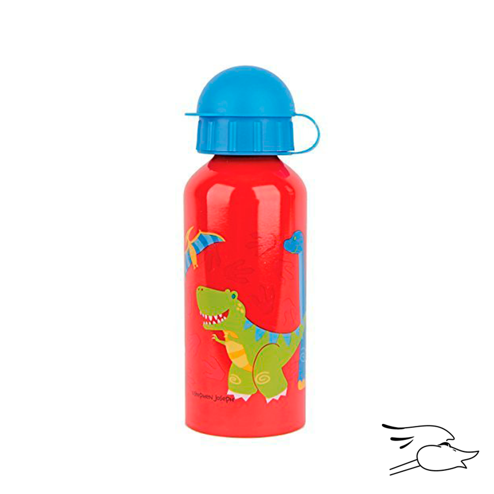 BOTTLE STEPHEN JOSEPH STAINLESS STEEL DINO RED