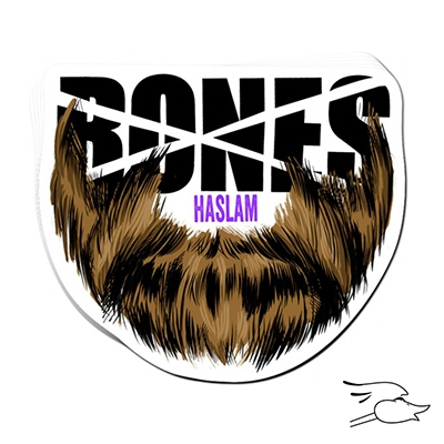 CALCOMANIA BONES HASLAM BEARD