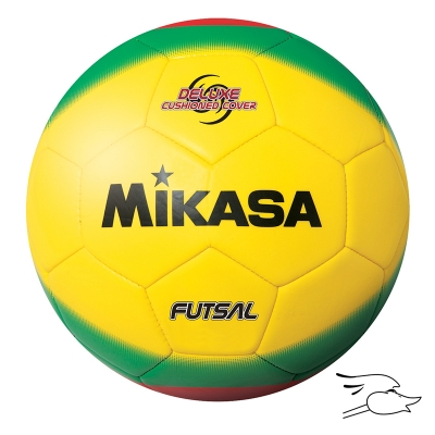 BALON MIKASA FUTSAL AMERICA MODEL YELLOW-GREEN-RED