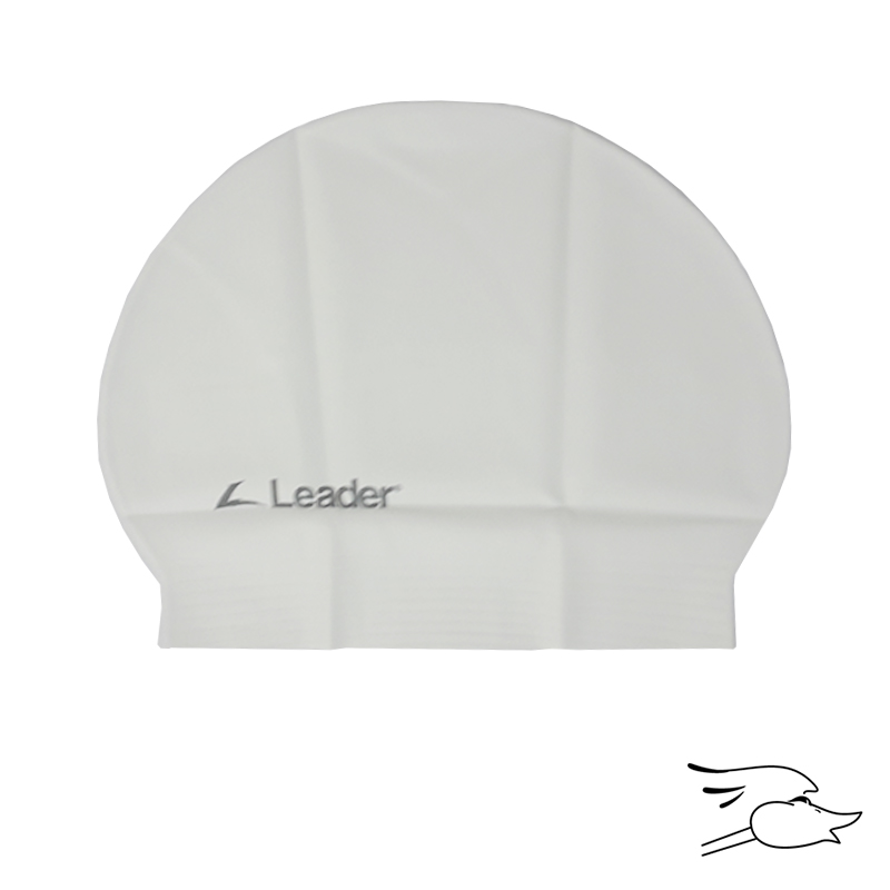 GORRO LEADER LATEX LOGO PB WHITE