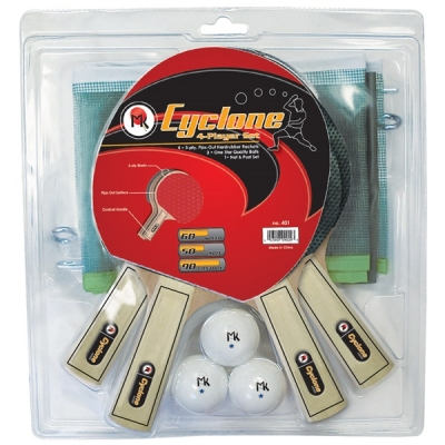 COMBO MK PING PONG CYCLONE 4 PLAYER SET
