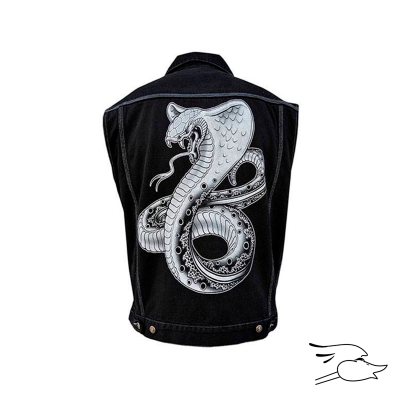 CHALECO BLACK MARKET MENS COBRA DENIM VEST