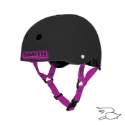 CASCO SMITH SCABS BLACK-PINK