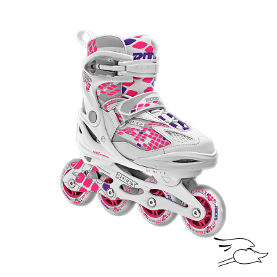 PATINES ROCES MOODY 4.0 GIRLS WHITE-PINK