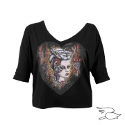CAMISETA LOWBROW WOMENS HUNTERS KISS ...