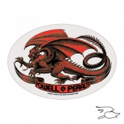 CALCOMANIA POWELL PERALTA OVAL DRAGON