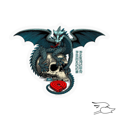 CALCOMANIA POWELL PERALTA DRAGON SKULL