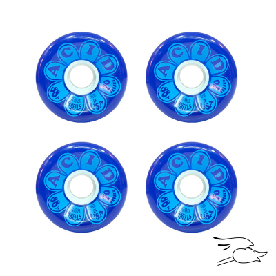 RUEDAS ACID FLOWER POWER DOUBLE RADIUS 700MM BLUE