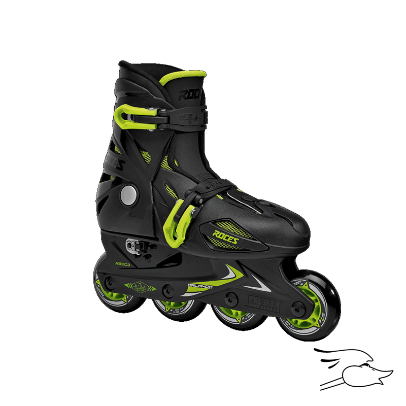 PATINES ROCES ORLANDO III BLACK-GREEN