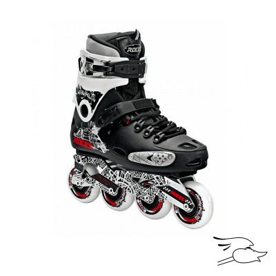 PATINES ROCES METROPOLIS BLACK-WHITE