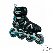 PATINES ROCES GYMNASIUM BLACK-BLUE M
