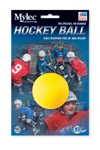 BOLA MYLEC HOCKEY COLD WEATHER YELLOW