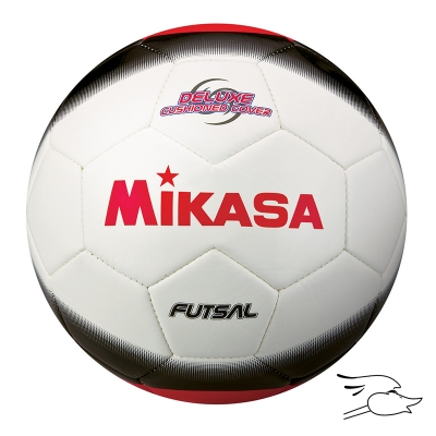 BALON MIKASA FUTSAL AMERICA MODEL WHITE-BLACK-RED