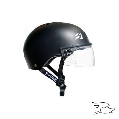 CASCO S-ONE LIFER VISOR BLACK MATTE