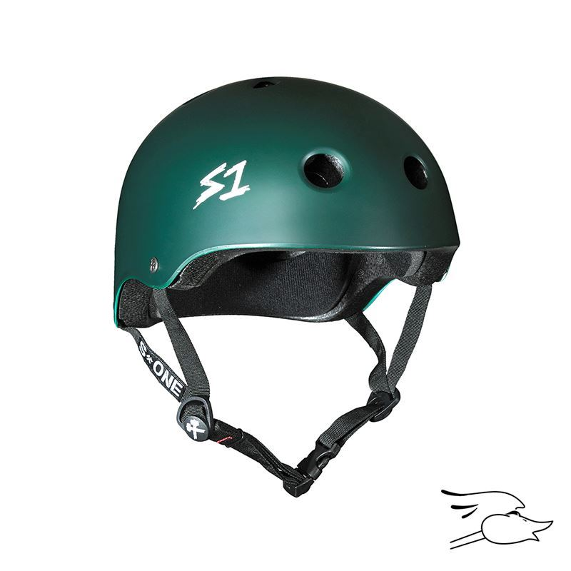 CASCO S-ONE LIFER DARK GREEN MATTE