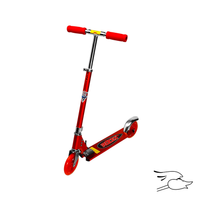 SCOOTER ROCES FUN RED ALUM FRAME 150MM