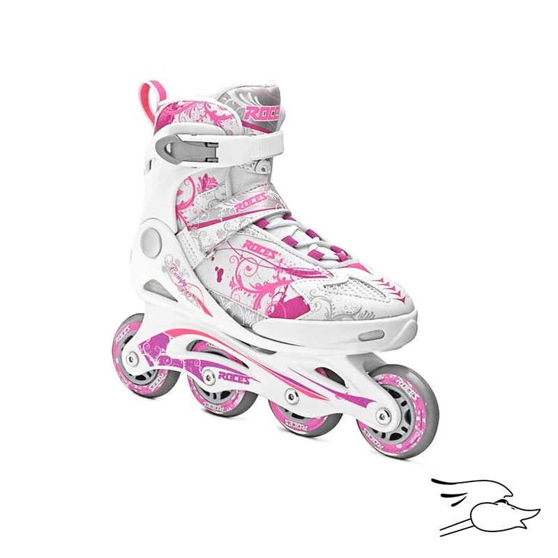 PATINES ROCES COMPY 7.0 WHITE-PINK-PURPLE
