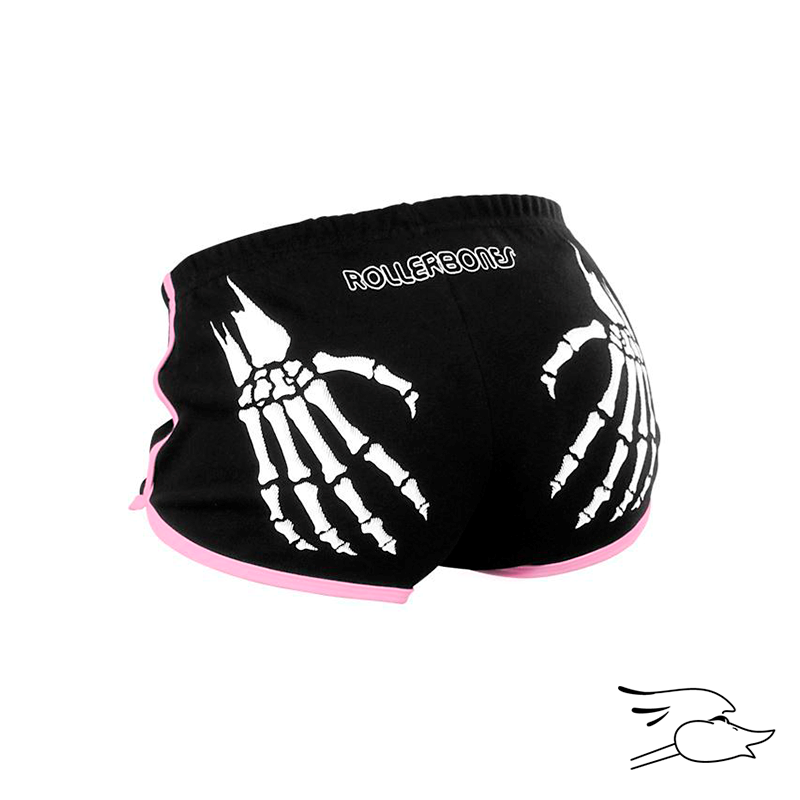 SHORTS RB DERBY BOOTY BLACK/PINK