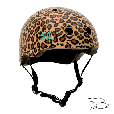 CASCO S-ONE LIFER X MOXI LEOPARD PRINT