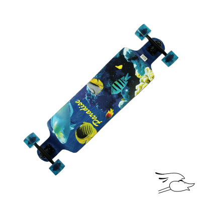 LONGBOARD PARADISE AQUATIC DROP DOWN (MONOPATIN)