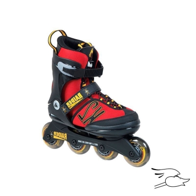 PATINES K2 RAIDER PRO RED-YELLOW