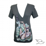 CAMISETA LOWBROW WOMENS SKATE OR ...