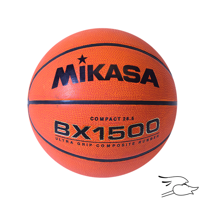 "BALON MIKASA BASKETBALL COMPOSITE RUBBER 28.5"" BXC1500"