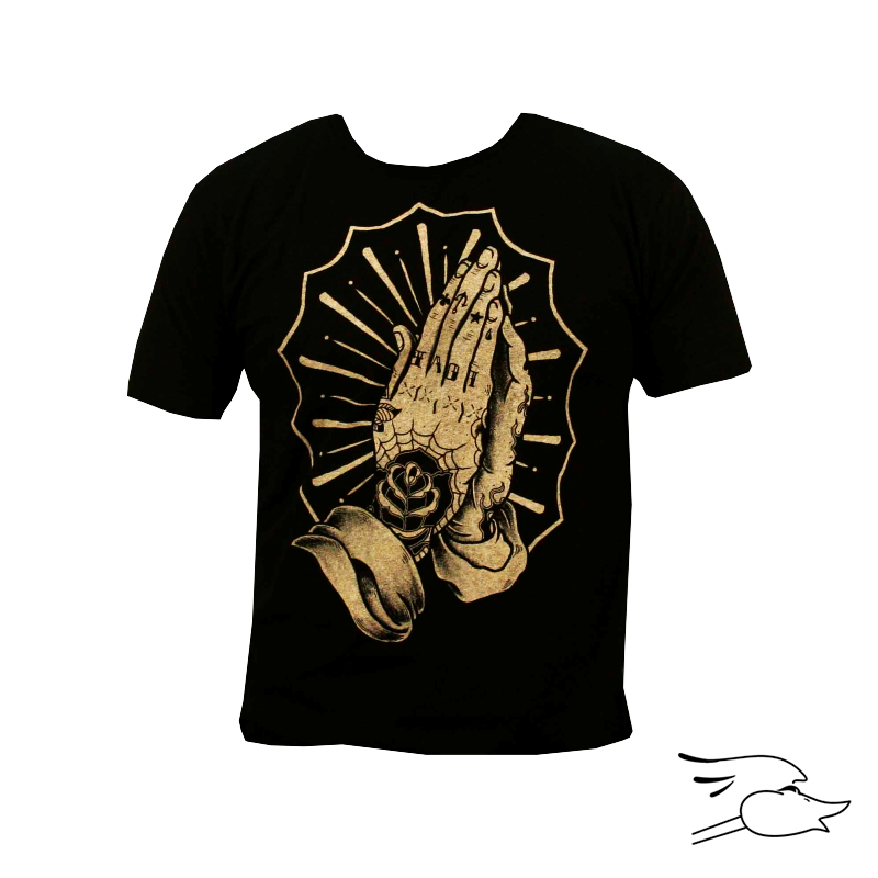 CAMISETA BLACK MARKET MENS SINNERS PRAYER