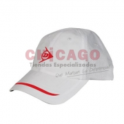 GORRA DUNLOP SLASH WHITE-RED