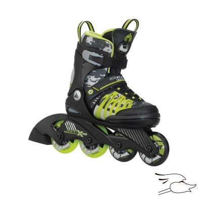 PATINES K2 SK8 HERO X PRO BLACK-LIME