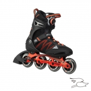 PATINES K2 F.I.T. BOA BLACK-ORANGE