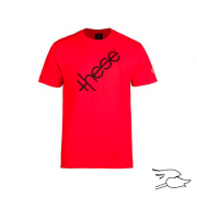 CAMISETA THESE LOGO RED