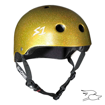 CASCO S-ONE LIFER GOLD GLOSS GLITTER