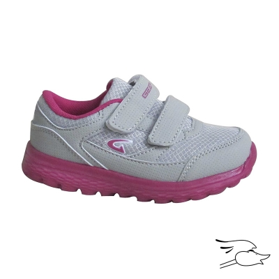 TENNIS DREAM SEEK 1941 INFANT LIGHT GREY-FUCHSIA