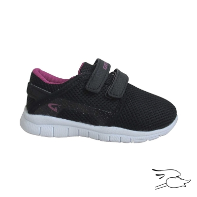 TENNIS DREAM SEEK 98 INFANT BLACK-FUCHSIA