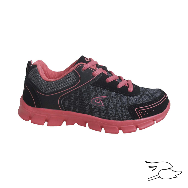 TENNIS DREAM SEEK 4250 GIRLS BLACK-CORAL