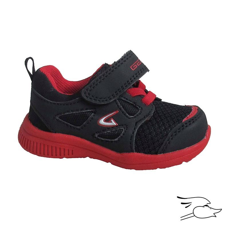 TENNIS DREAM SEEK 358 BOYS BLACK -RED