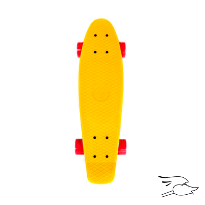 MONOPATIN ALLIANCE PLASTIC CRUISER YELLOW
