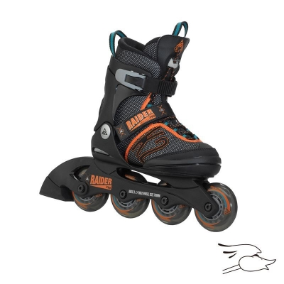 PATINES K2 RAIDER PRO BLACK ORANGE