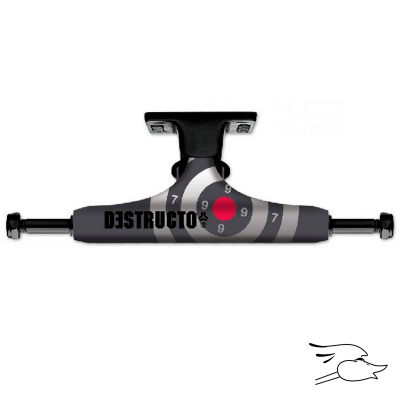 TRUCKS DESTRUCTO D1 50-50 RAW-BLACK MID 5.0