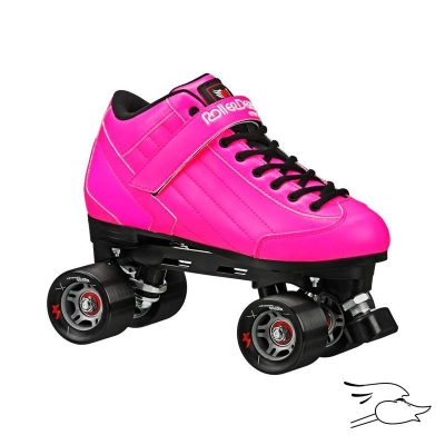 PATINES ROLLER DERBY STOMP FACTOR 5 PINK