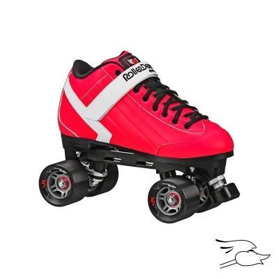 PATINES ROLLER DERBY STOMP FACTOR 5 RED